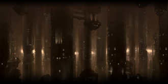 Omega skyline panorama