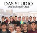 Das Studio und die Flüchtlinge