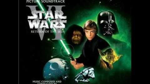Star Wars Return of the Jedi, Victory Celebration-End Title