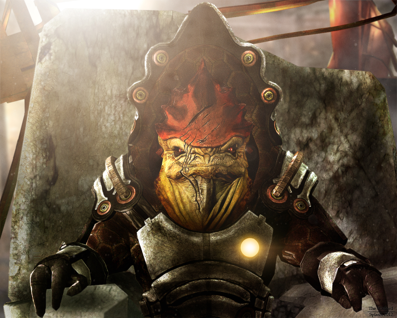 Krogan Empire Mass Effect Fanon Wiki Fandom Powered By Wikia