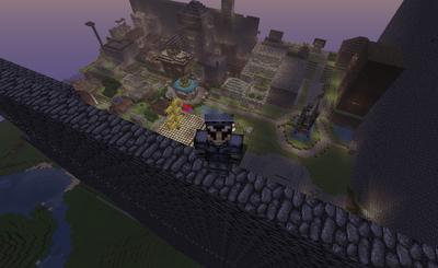 Strider and Dovahkiin City