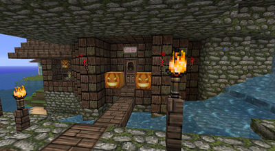 Broken Glass - Potion Shop from outside