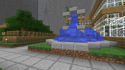 Dovahkiin City Fountain
