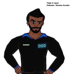 Sherman Bawnder (Black)