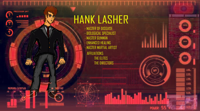 Hank Lasher Background