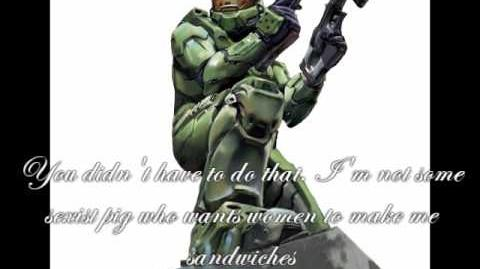 Master Chief Rocks at Ordering McDonalds