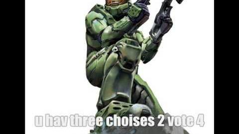 Master Chief Sucks at Voting