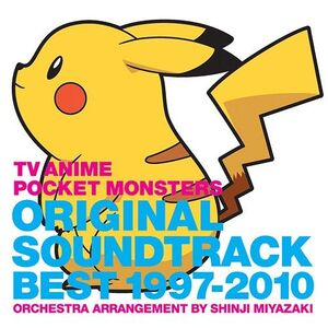 TV Anime Pocket Monsters Original Soundtrack Best 1997-2010 - Shinji Miyazaki