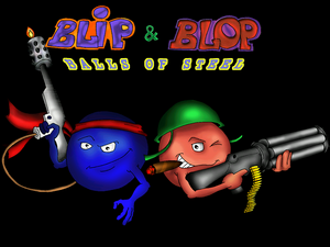 Blip & Blop Balls of Steel