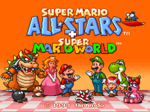 Super Mario All Stars Super Mario World