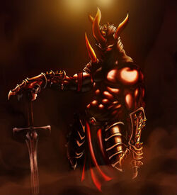 Demon knight by Edragon