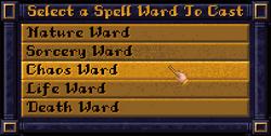 Screenshot SpellWard