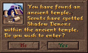 Encounter AncientTemple Dialog