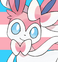 Sylveon REAL trans icon