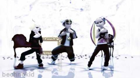 【MMD】You reposted in the wrong-- wait a minute... - Guzma, Plumeria, & Gladion