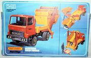 Skip Truck Bedford (rear side box)