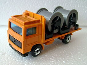 Volvo Cable Truck Cast