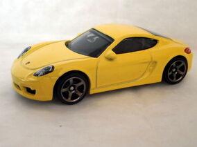 Porsche Cayman Cast