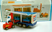 Delivery Truck and Fork Lift (in load)