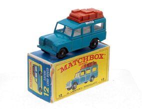 Land Rover Safari Series (1967-69 Blue RW Box)