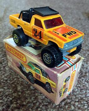 4x4 Open Back Truck (1982 Box)