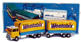Ford Transcontinental Truck and Trailer Weetabix