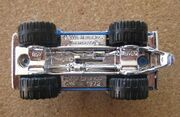 Ford Bronco 4x4 - 1972 (baseplate)