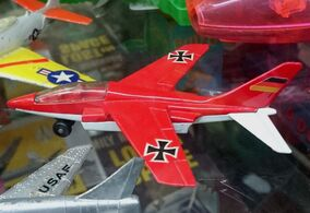 Alpha Jet (SB-11, Red & white)