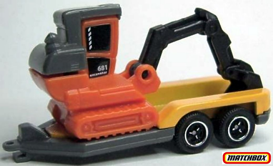 Excavator Trailer Matchbox Cars Wiki Fandom Powered By