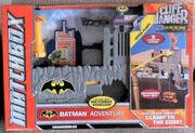 2012 MATCHBOX BATMAN ADVENTURE CLIFF HANGER PLAYSET