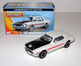 Matchbox 60TH Anniversary '68 Mustang GT CS