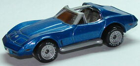 Corvette T Roof WCblu