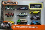 MATCHBOX 10 PACK 2015 Ford Transit