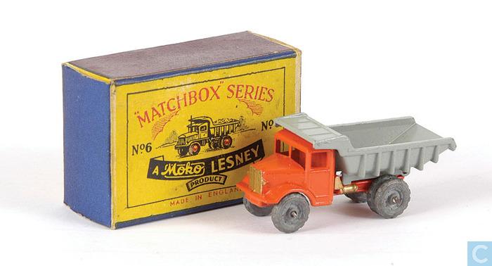 Matchbox Lesney  6 b Euclid Quarry Truck sticker set