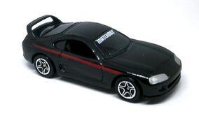 Toyota Supra Turbo (2000 Black Red)
