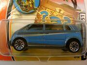 Volkswagen microbus blue intl