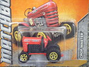Matchbox 2012 62 CROP MASTER red