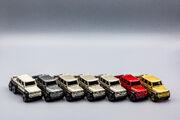Group Shot of Mercedes-Benz G63 AMG 6x6
