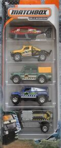 Matchbox 2014 5 pack Dino Adventure