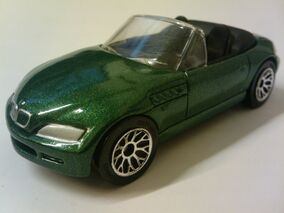 BMW Z3 Roadster green
