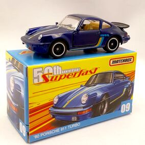 MB1152 - GBK29 2019 Superfast 50 - 80 Porsche 911 Turbo