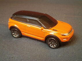 Range Rover Evoque (Orange) 2016