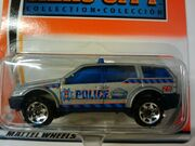 Hero City Police SUV