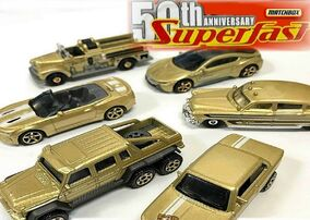 Matchbox 50th Anniversary Gold series 2019