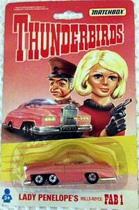 Thunderbirds - Lady Penelope - Rolls Royce - 1992
