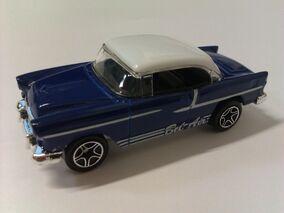 Classics 55 Chevy Hardtop blue