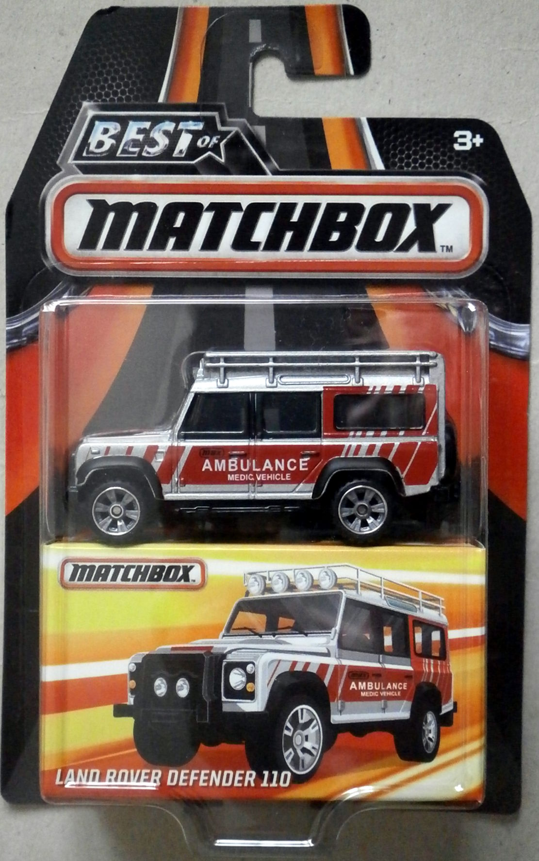 Image Best of Matchbox 2016 Land Rover Defender 110