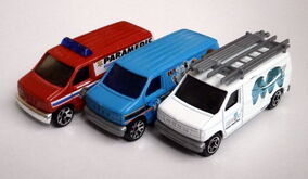 Ford Panel Van (Versions)