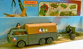 Artillery Truck & Field Gun (K-116)