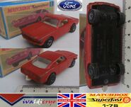 Ford mustang matchbox superfast n8